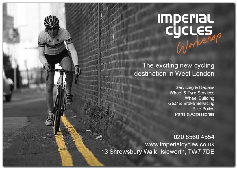 imperial cycles postcard