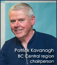 Imperial Winter Series 2014/2015 Patrick Kavanagh, BC Central region chairperson