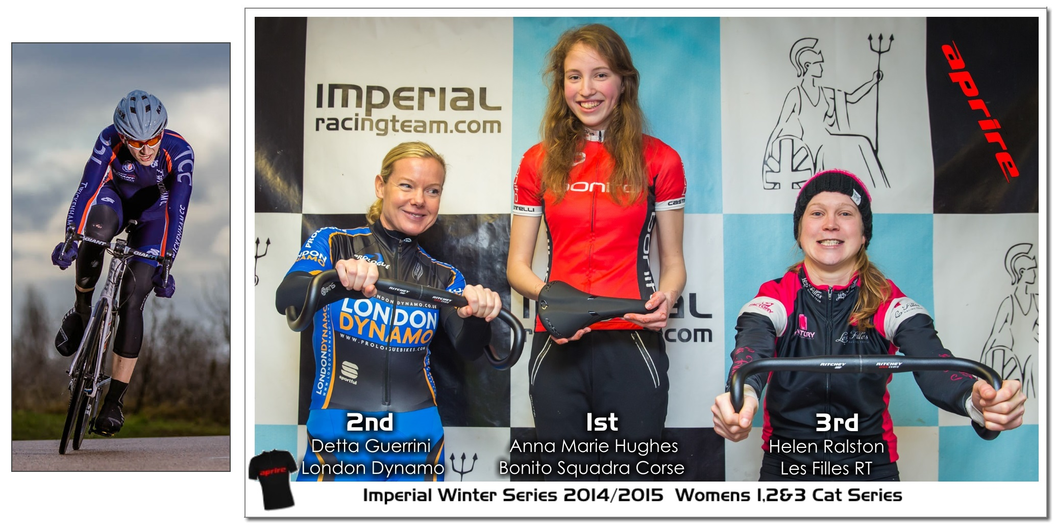 Imperial Winter Series 2014/2015 Class of 2014/2015 Anna Marie Hughes, Detta Guerrini, Helen Ralston