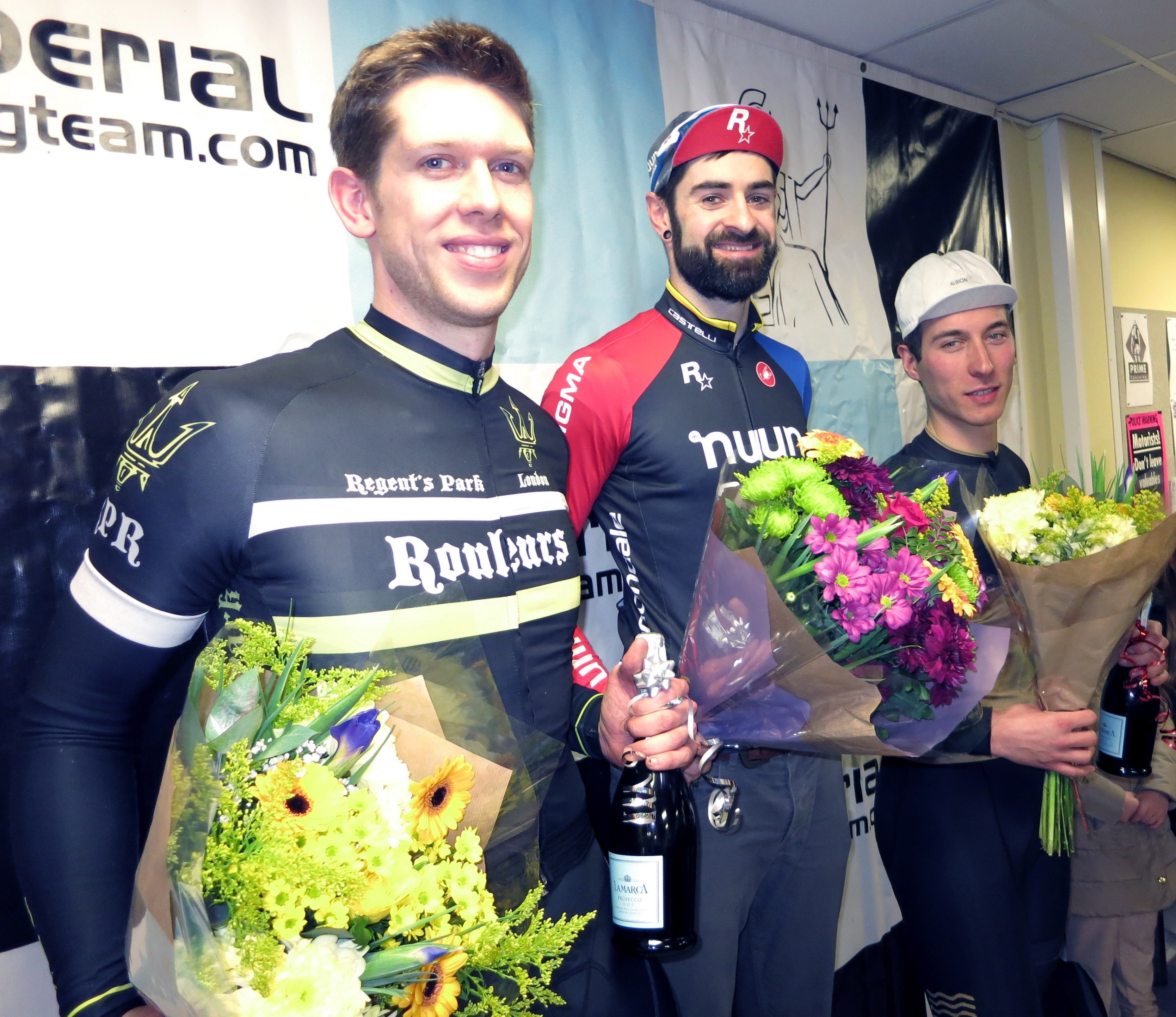 Imperial Winter Series 2016/2017 1st Tom Hargreaves, 2nd Daniel Cooper, 3rd Damien Clayton
