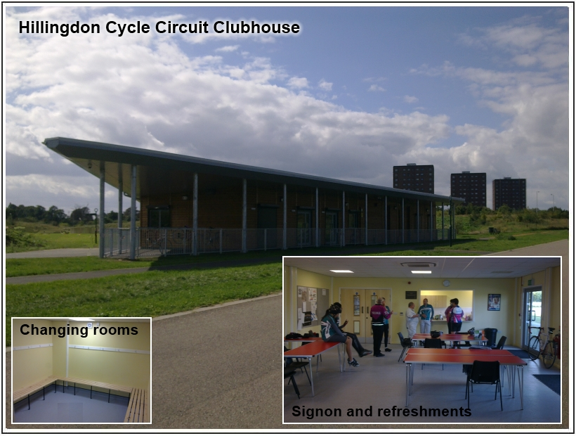 Hillingdon Race Circuit Club house